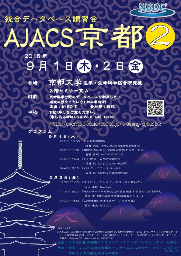 AJACS京都2ポスター