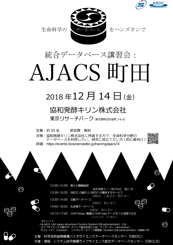 AJACS町田ポスター
